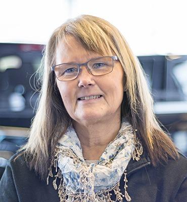 Lotta Andrén på Hyrbilar i Karlstad