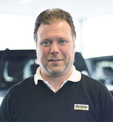 Niclas Lundqvist på Hyrbilar i Karlstad